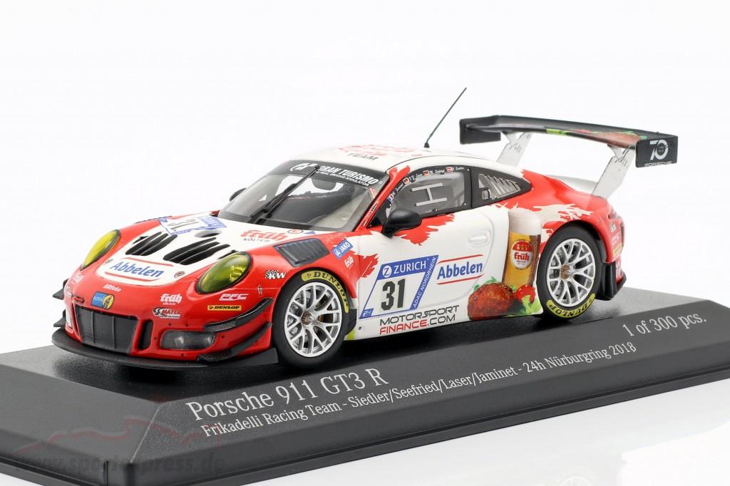 Porsche 911 (991) GT3 R #31 24h Nürburgring 2018 Frikadelli Racing