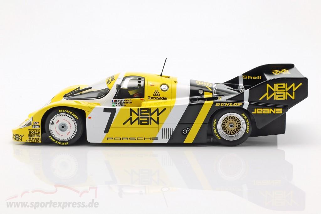 A. Senna Porsche 956K #7 1000km Nürburgring 1984 Joest