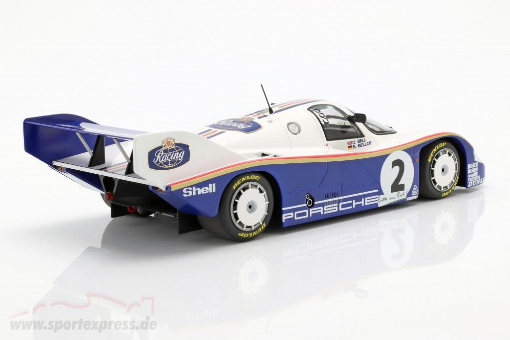 Porsche 956K #2 Winner 1000km Nürburgring 1984 Bellof, Bell
