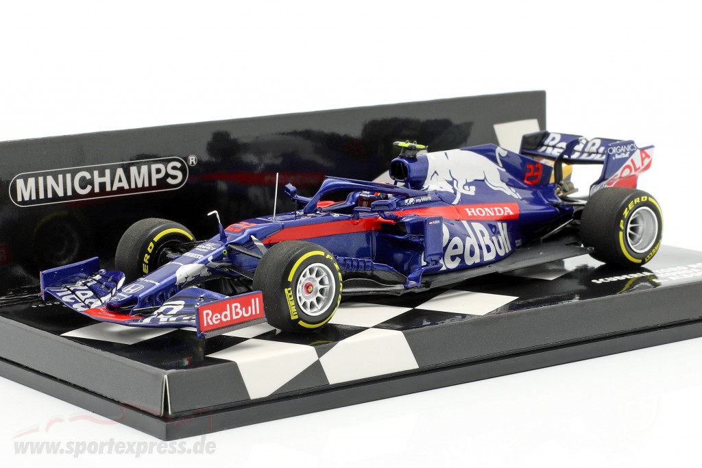 Alexander Albon Scuderia Toro Rosso STR14 #23 formula 1 2019