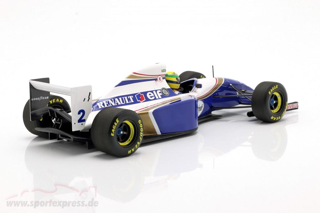 Ayrton Senna Williams FW16 #2 San Marino GP formula 1 1994