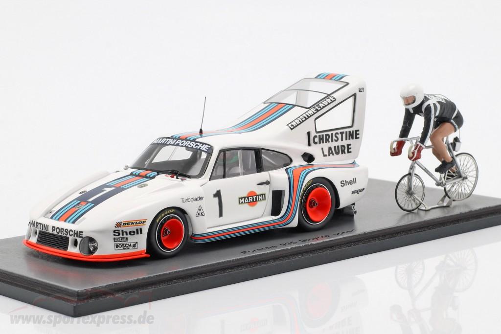 Porsche 935 #1 Bicycle speed Record 1977