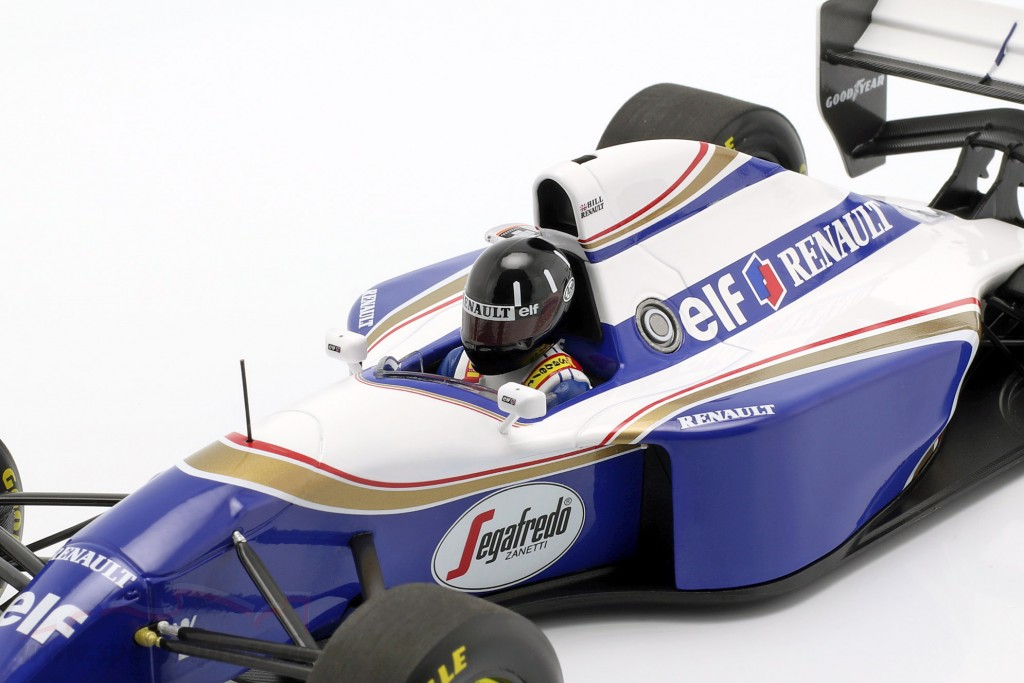Damon Hill Williams FW16 #0 2nd Brazilian GP formula 1 1994