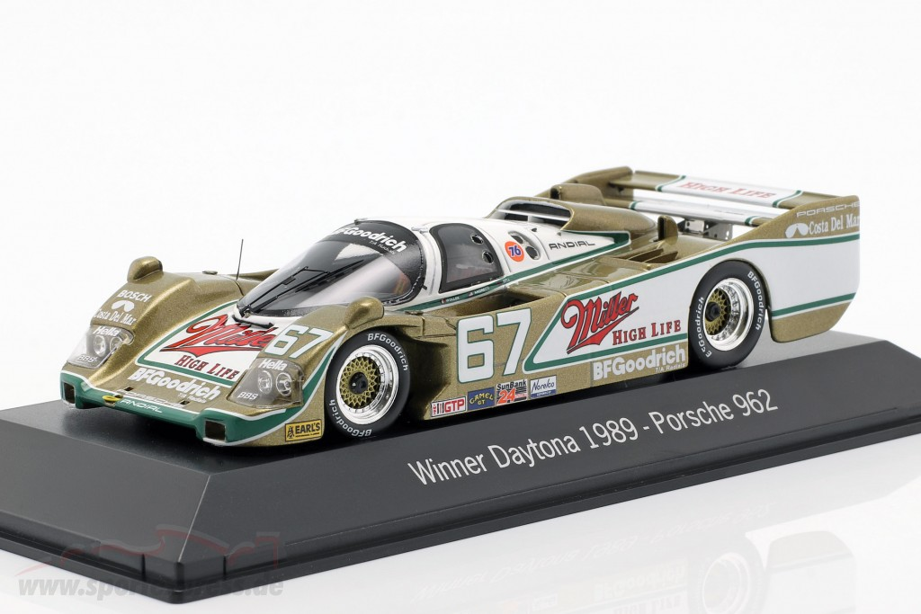 Porsche 962 #67 Winner 24h Daytona 1989 Wollek, Bell, Andretti