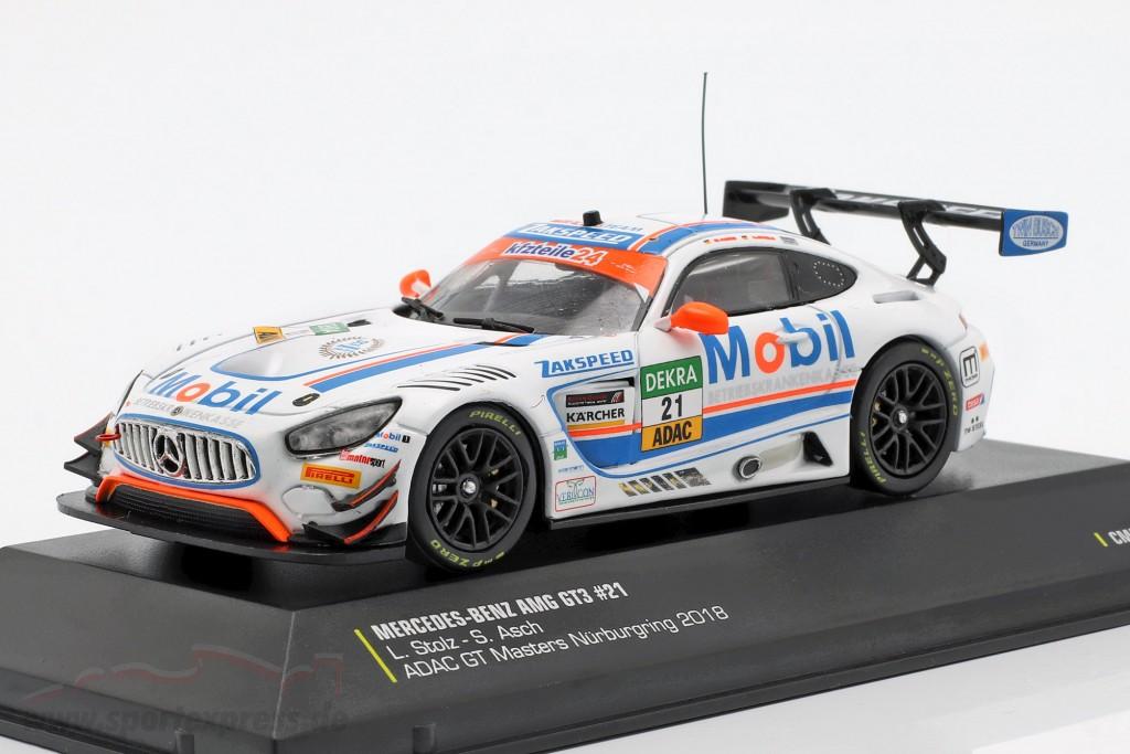 Mercedes-Benz AMG GT3 #21 GT Masters Nürburgring 2018 Stolz, Asch