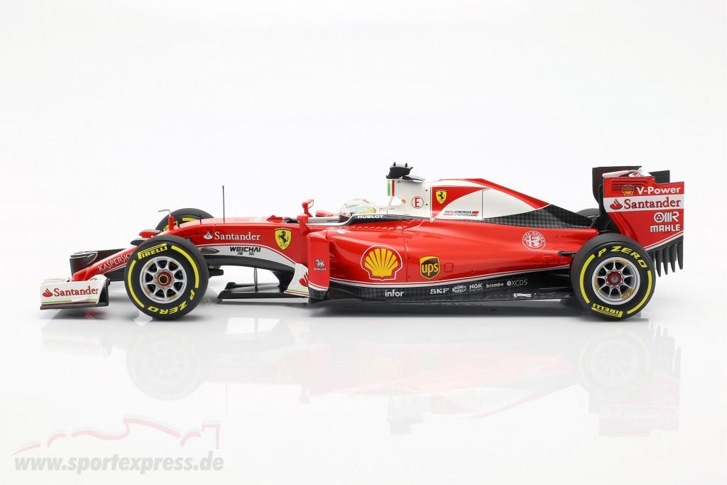 Sebastian Vettel Ferrari SF16-H #5 3rd Australien GP Formel 1 2016 1:18 BBR