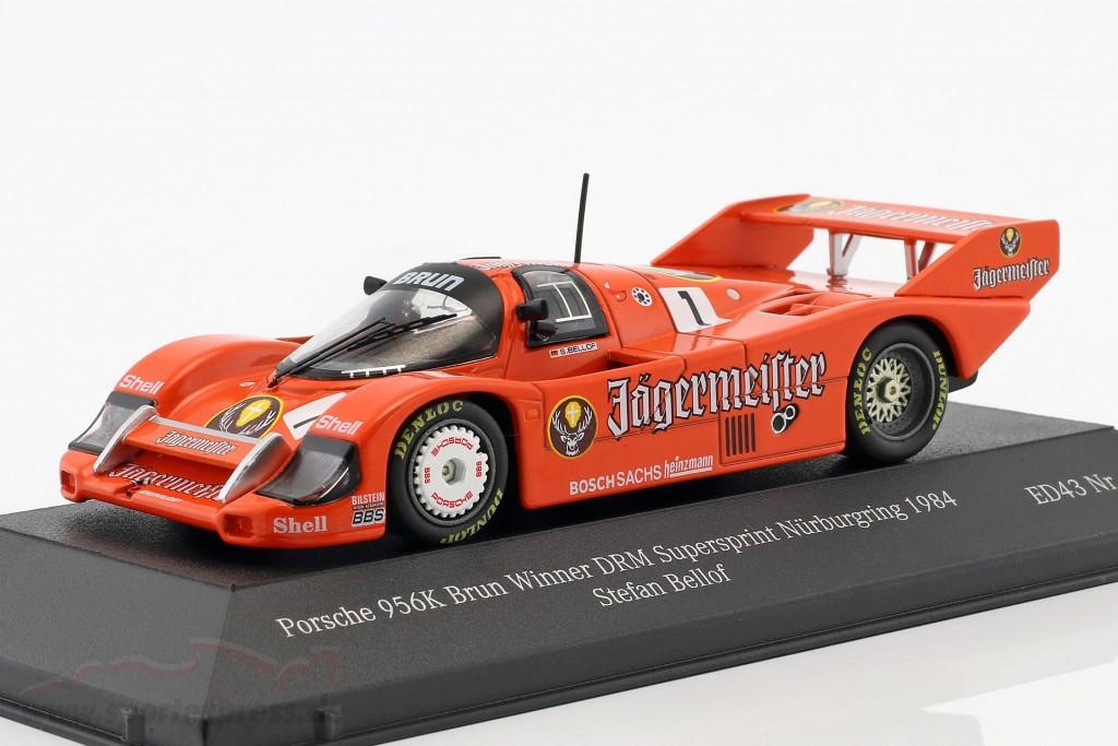 Porsche 956K #1 Winner DRM Supersprint Nürburgring 1984 Stefan Bellof