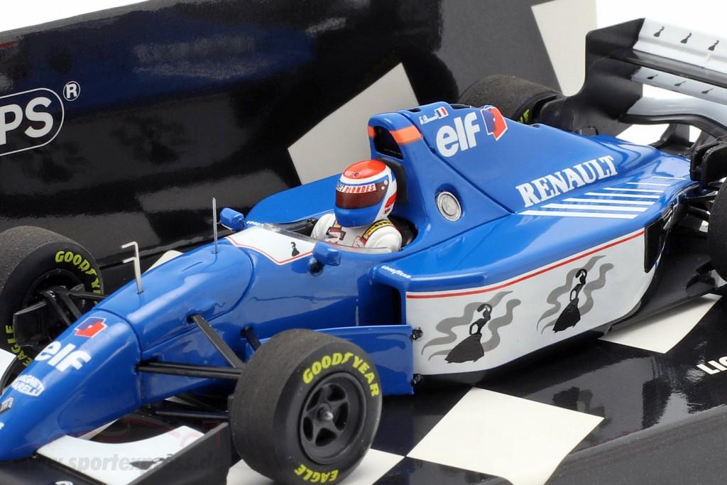 Eric Bernard Ligier JS39B #25 formula 1 1994