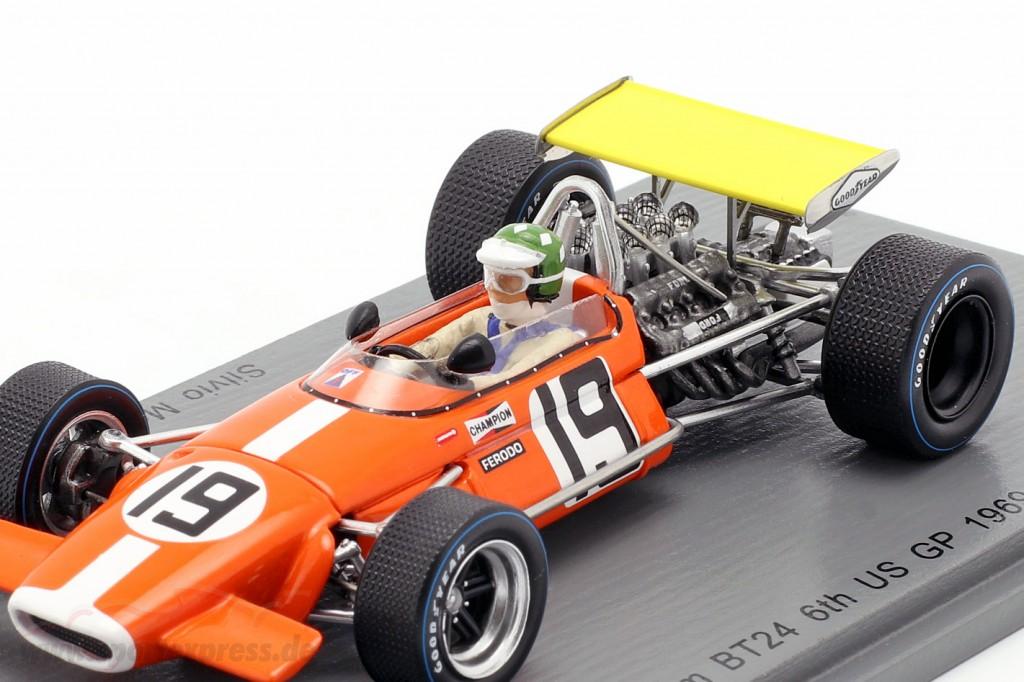 S5265 1//43 BRABHAM BT24 GP US 1969 SPARK