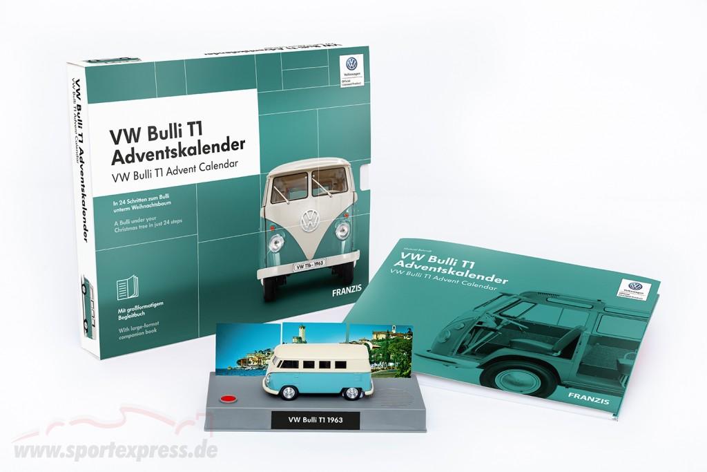 VW Bulli T1 Advent Calendar 2019: Volkswagen VW Bulli T1