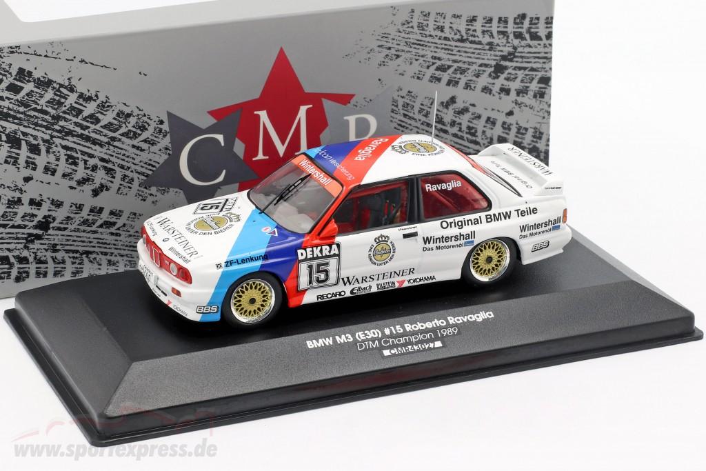 BMW M3 E30 #15 DTM champion 1989 Roberto Ravaglia