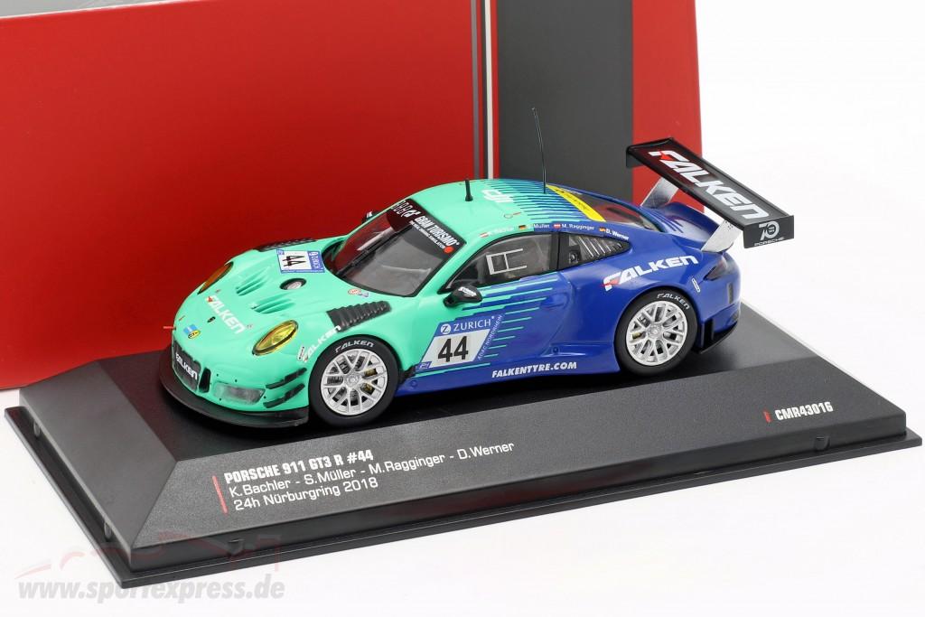 Porsche 911 (991) GT3 R #44 9th 24h Nürburgring 2018 Falken