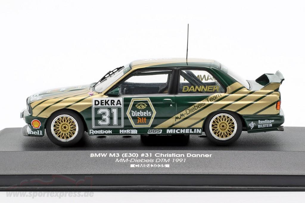 BMW M3 (E30) Sport Evolution #31 DTM 1991 Christian Danner