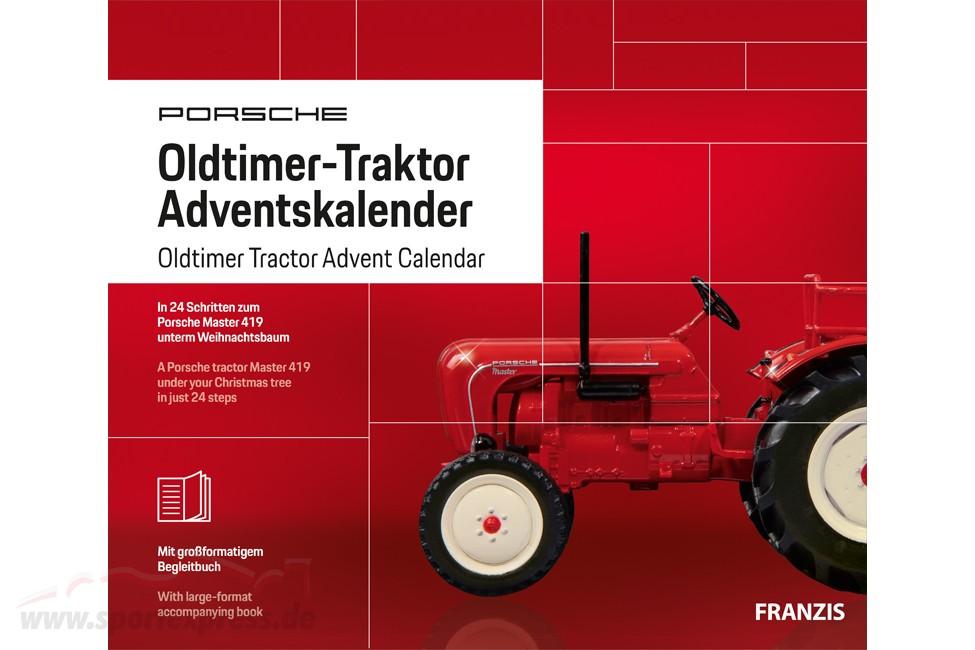 Porsche Oldtimer tractor Advent Calendar 2019: Porsche Master 419