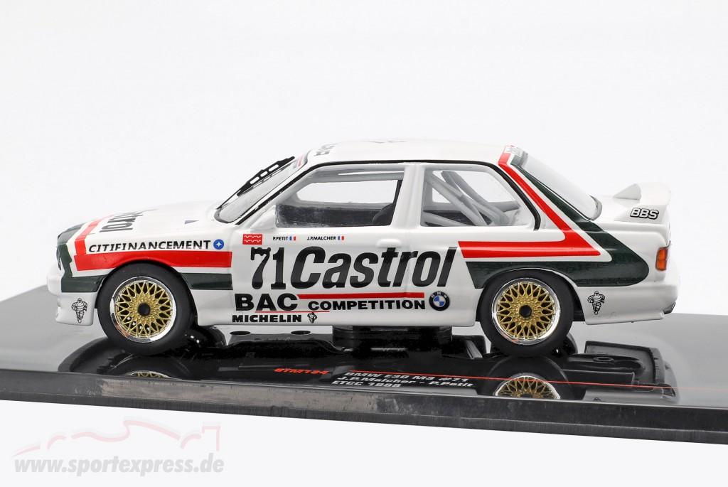 BMW M3 (E30) #71 ETCC 1988 Malcher, Petit
