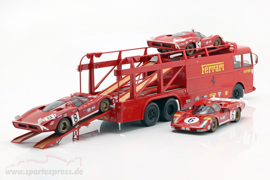 Fiat Bartoletti Truck 306 2 Ferrari Movie Lemans 187703 Ean 3551091877035