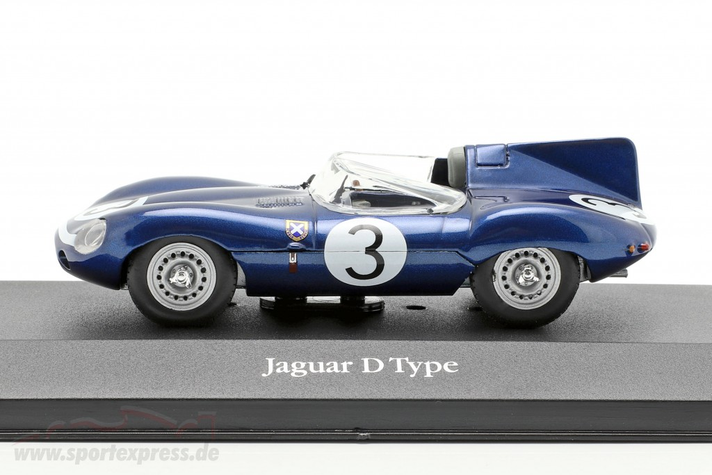 Jaguar D type #3 Winner 24h LeMans 1957 Flockhart, Bueb