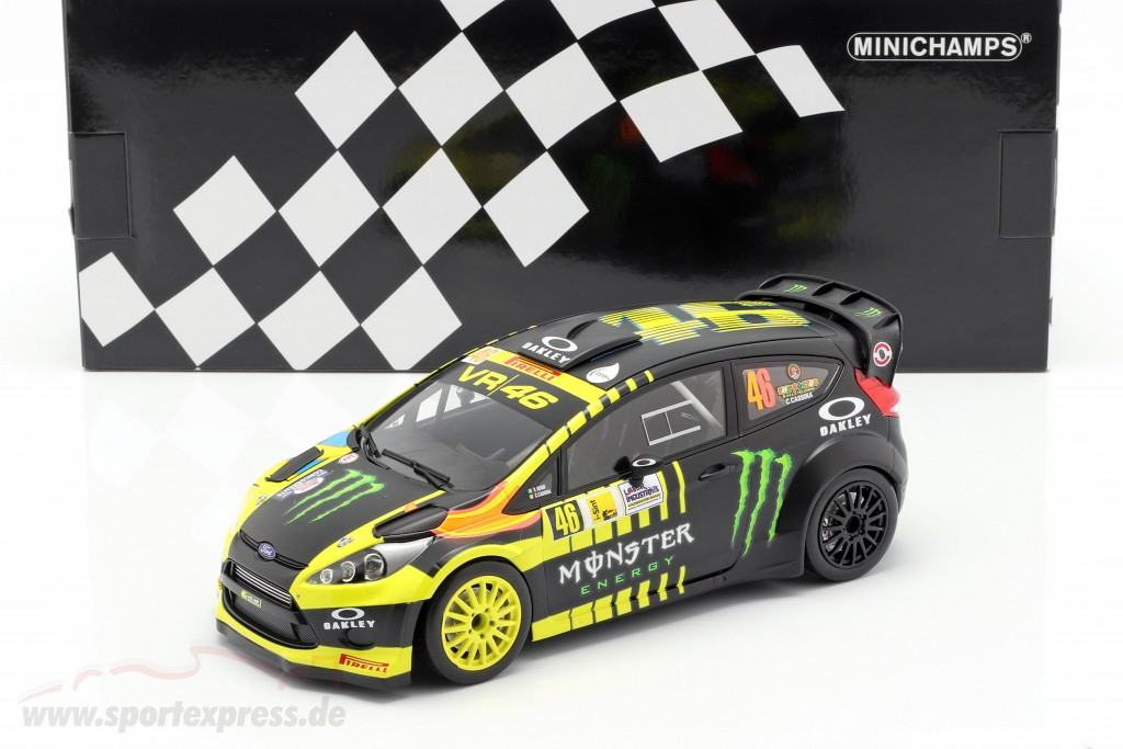 Ford Fiesta RS WRC #46 2nd Monza Rallye Show 2013 Rossi, Cassina
