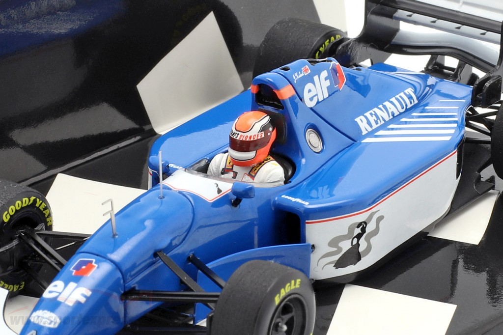 Johnny Herbert Ligier Renault JS39B #25 European GP 1994