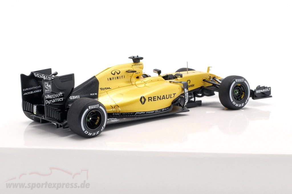 K. Magnussen & J. Palmer Renault R.S.16 Showcar Formel 1 2016