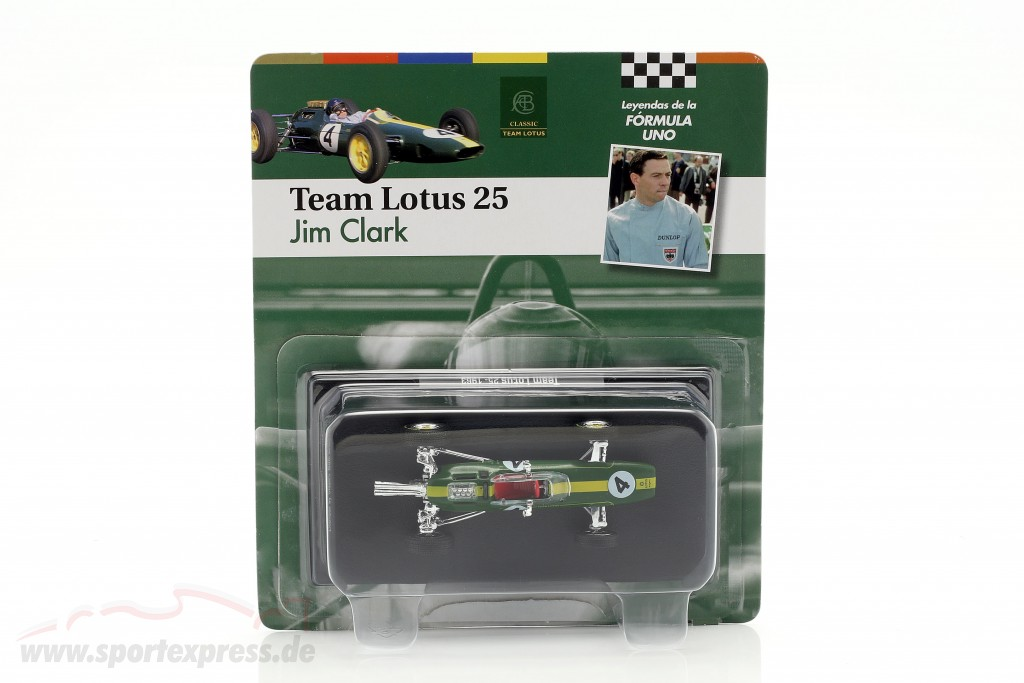 Jim Clark Lotus 25 #4 World Champion formula 1 1963