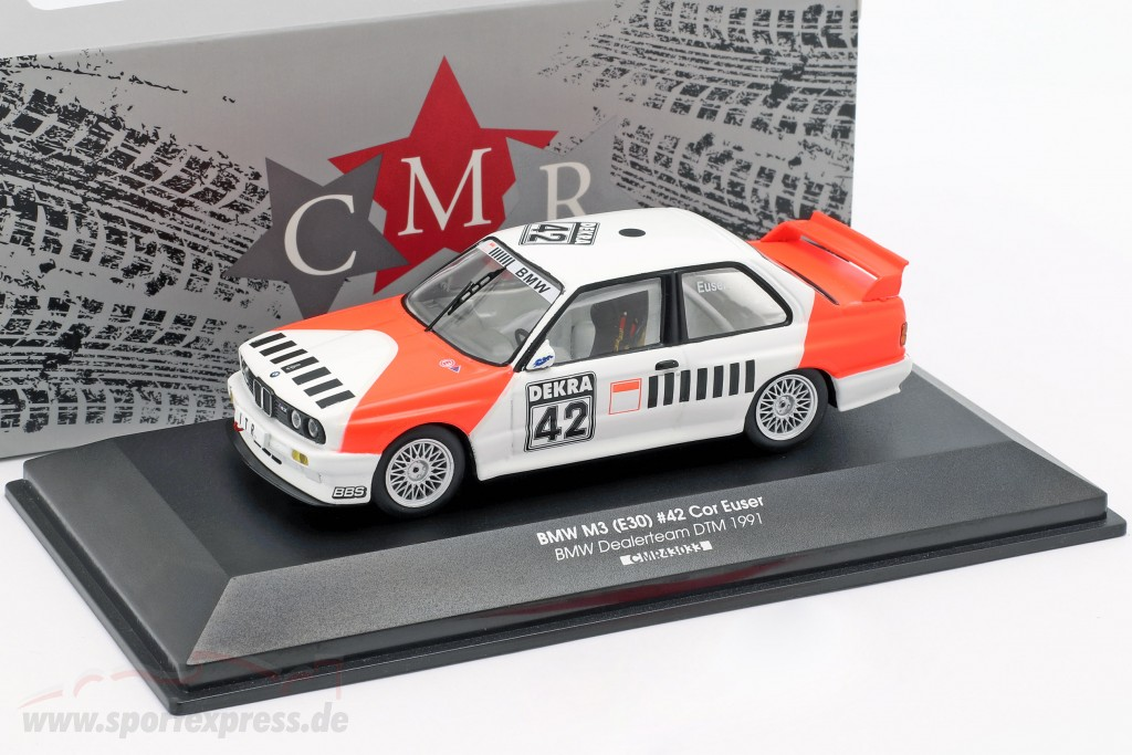 BMW M3 (E30) #42 DTM 1991 Cor Euser