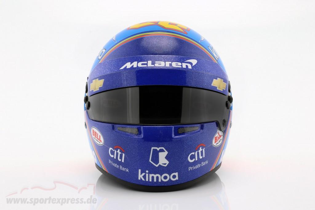 Fernando Alonso McLaren #66 Indy 500 2019 Helm