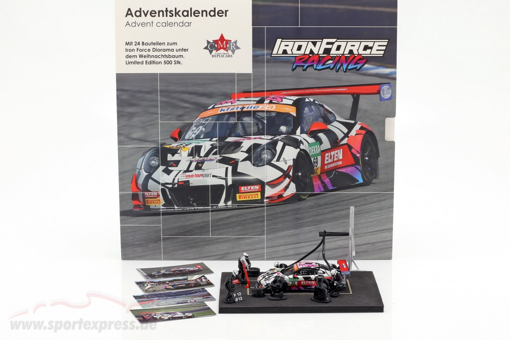 Iron Force Advent Calendar: Porsche 911 (991) GT3 R #69 Iron Force