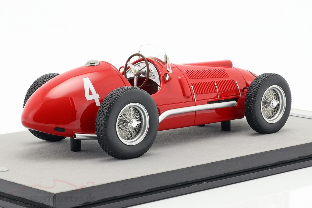 1950 FERRARI F1 275 #4 A 1//18 CAR TECNOMODEL TM18-152B ASCARI F1 BELGIAN GP