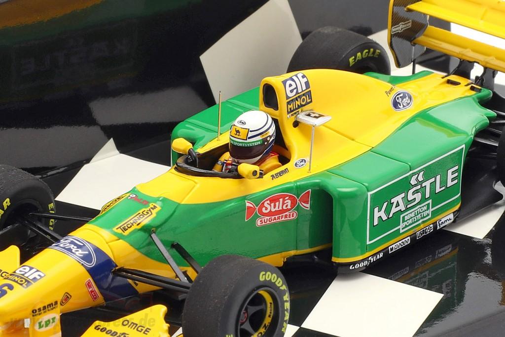 Riccardo Patrese Benetton B193B #6 3rd Großbritannien GP F1 1993