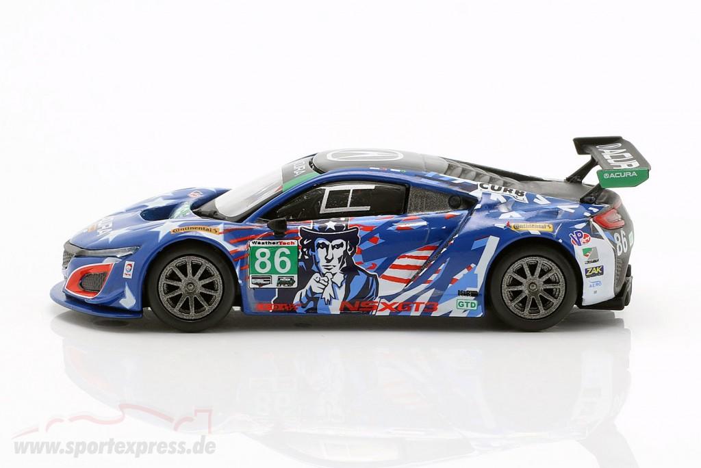 Acura NSX GT3 #86 6h Watkins Glen IMSA 2017 Segal, Negri