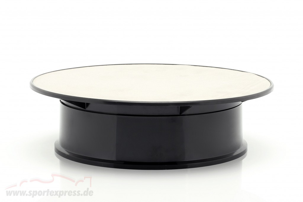 Turntable diameter ca. 20 cm for model cars in scale  silver