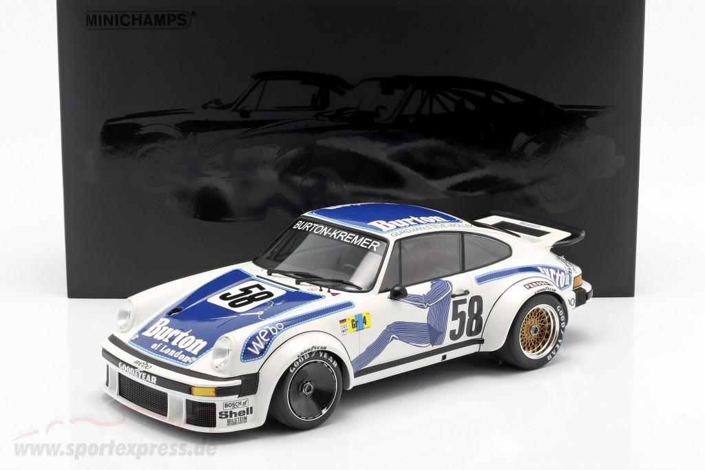 Porsche 934 #58 Class Winner 24h LeMans 1977 Kremer Racing