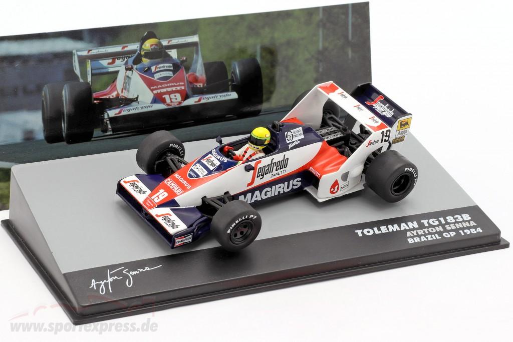 Ayrton Senna Toleman TG183B #19 Brasilien GP Formel 1 1984