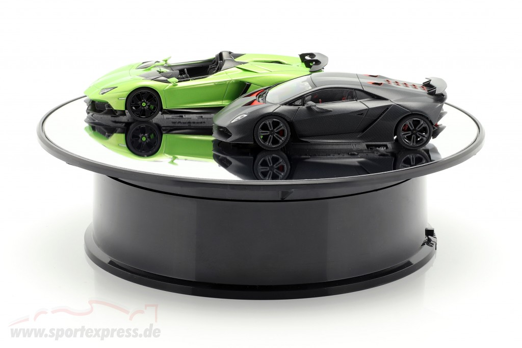 Mirror turntable diameter 20 cm for model cars in scale