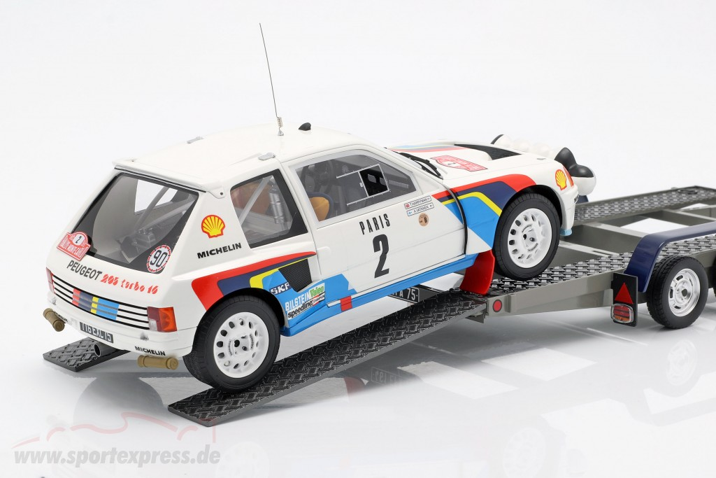 3-Car Set Winner Rallye Monte Carlo 1985 Peugeot Talbot Sport  OttOmobile