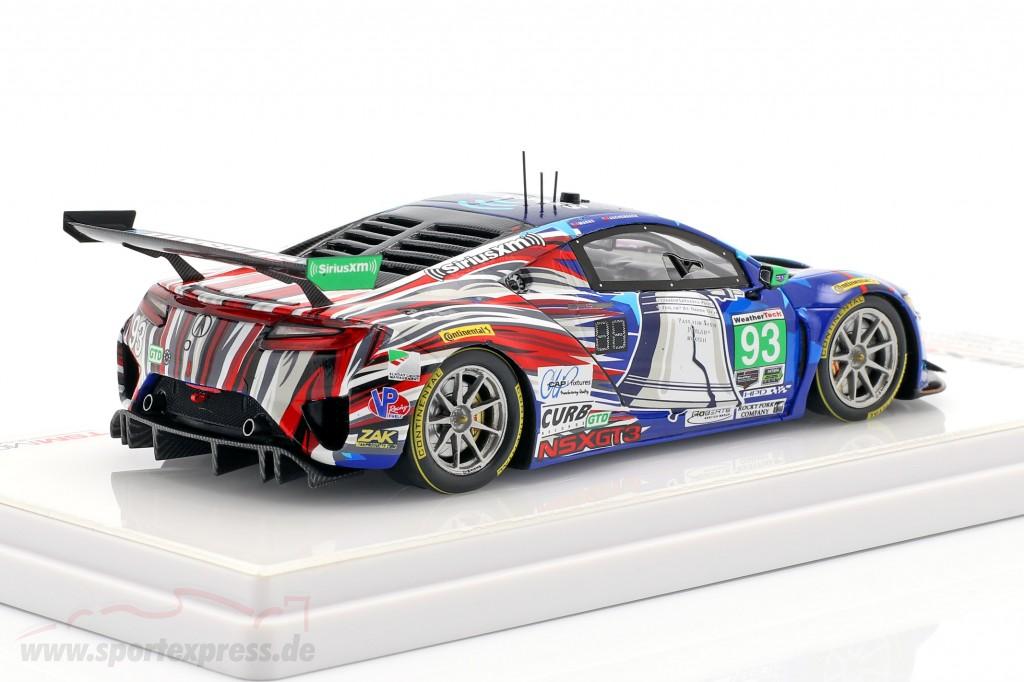 Acura NSX GT3 #93 IMSA 6h Watkins Glen 2018 Aschenbach, Marks