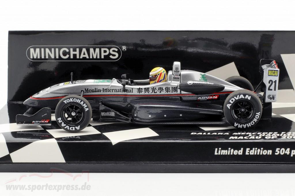 Lewis Hamilton Dallara F302 #21 Pole Position Macau GP 2004