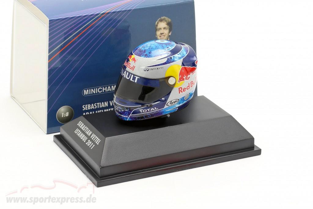 S. Vettel Red Bull GP Istanbul Formula 1 World Champion 2011 Helmet