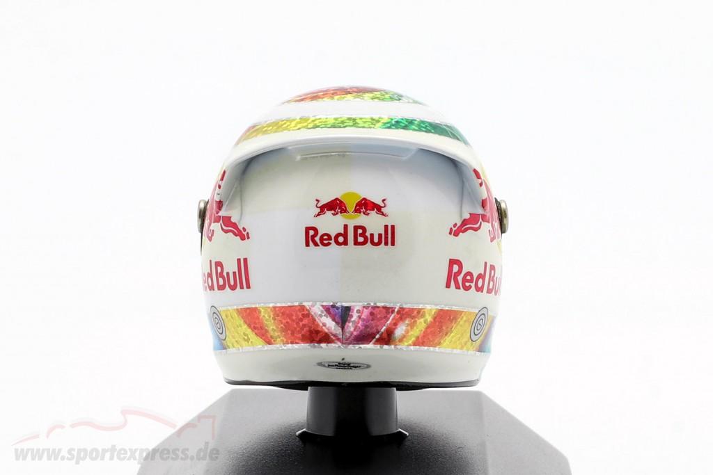 S. Vettel Red Bull GP Singapore Formula 1 Weltmeister 2011 Helmet