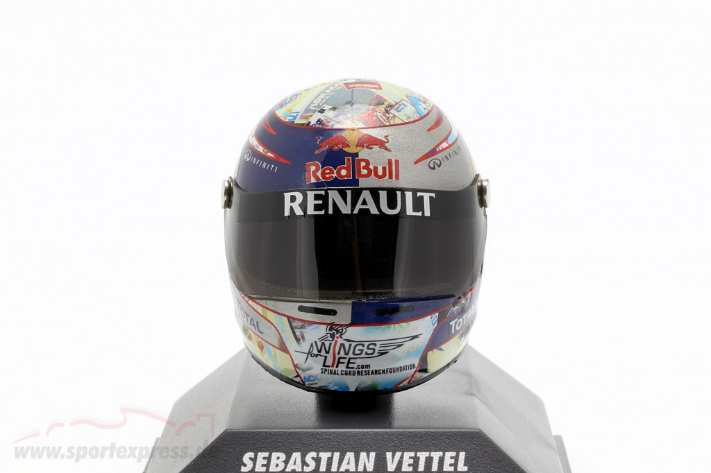S. Vettel Red Bull GP Monaco Formula 1 World Champion 2011 Helmet