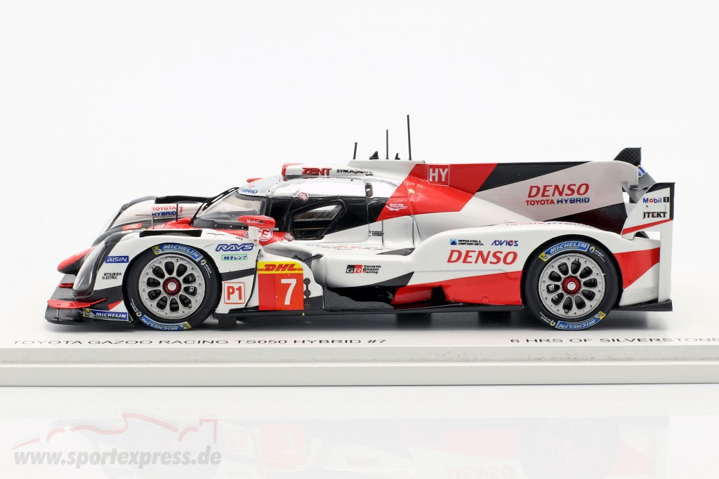 Toyota TS050 Hybrid #7 WEC 6h Silverstone 2017 Toyota Gazoo Racing