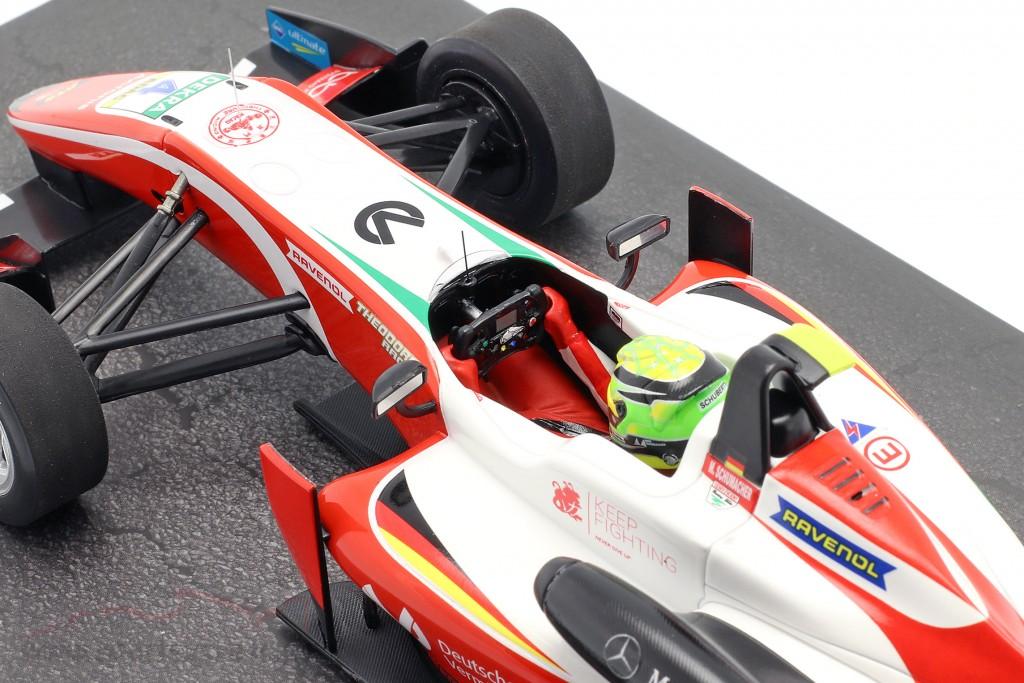 Mick Schumacher Dallara F317 #4 Formel 3 Champion 2018