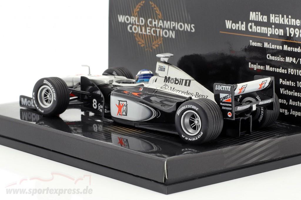 Mika Häkkinen McLaren Mercedes MP4/13 #8 World Champion formula 1 1998