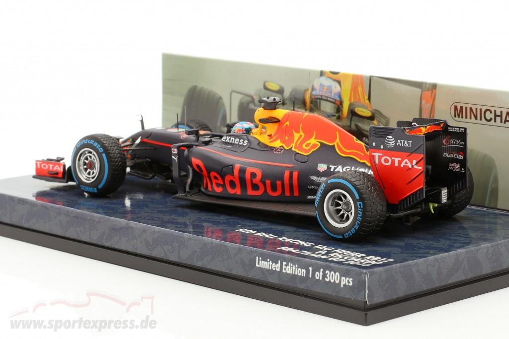 Daniel Ricciardo Red Bull RB12 #3 Brazil GP formula 1 2016