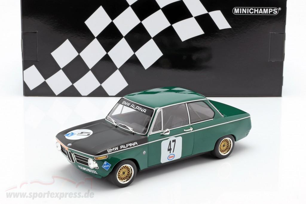 BMW 1602 #47 ADAC Eifelrennen Nürburgring 1971 P. Meyer