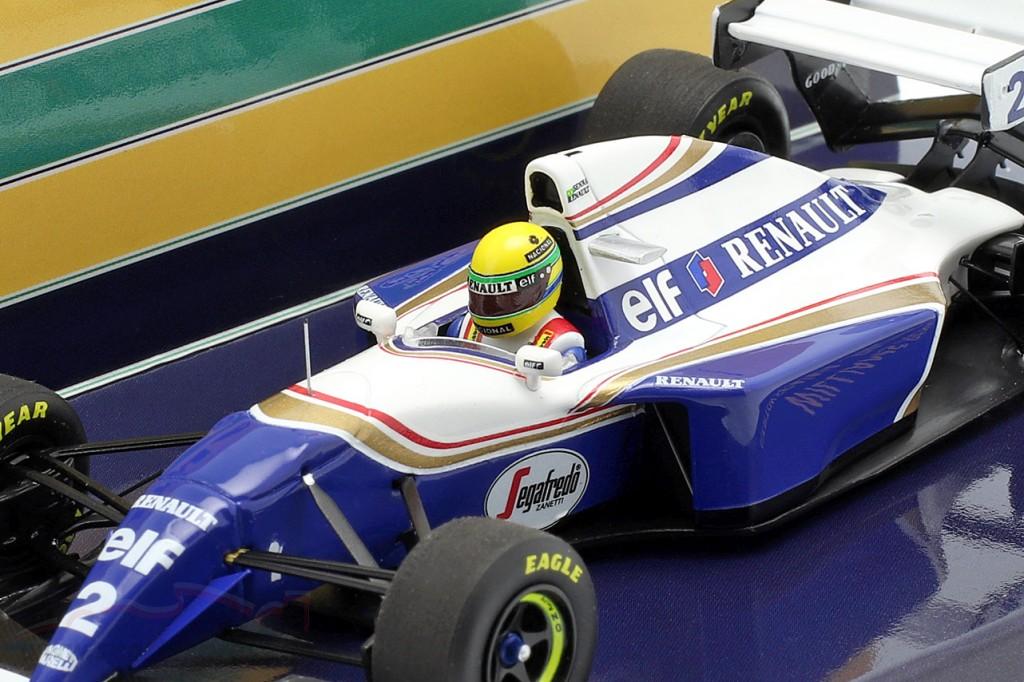 Ayrton Senna Williams FW16 #2 Pacific GP formula 1 1994