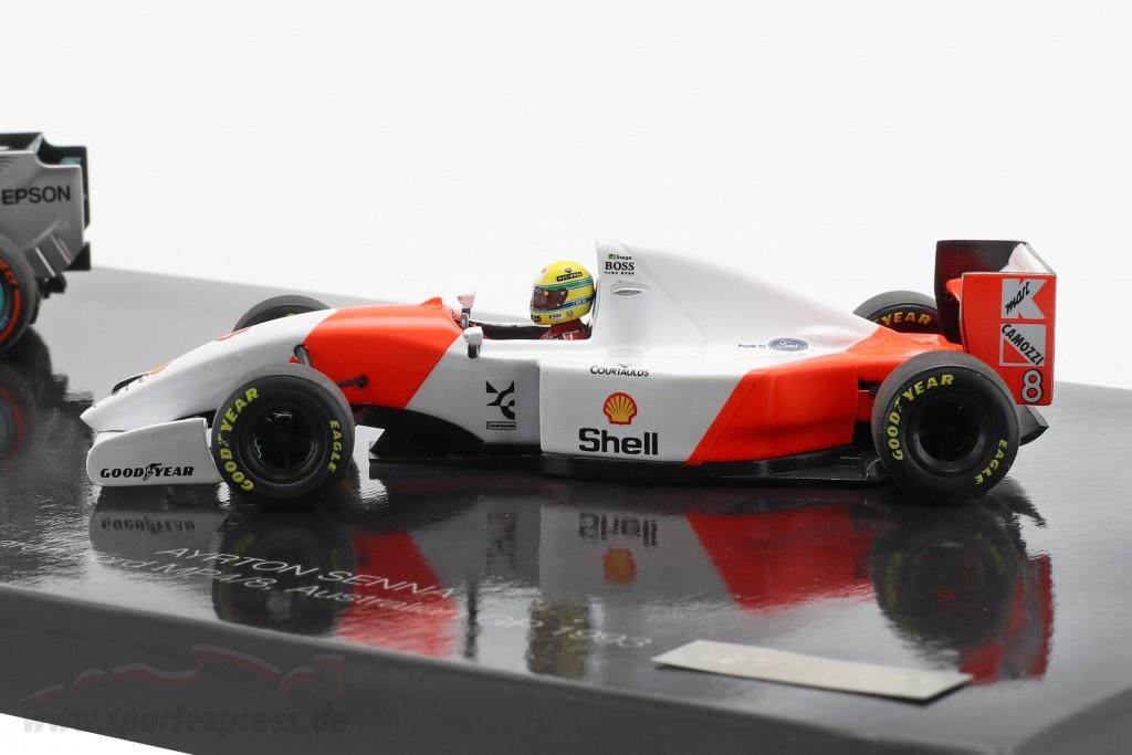 2-Car Set 41. Career victory formula 1 Hamilton (2015) and Senna (1993)