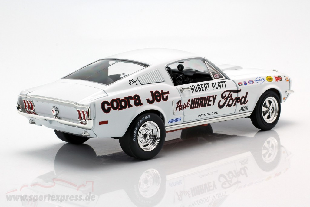 Ford Mustang S/S Cobra Jet year 1968 50th Anniversary white  Autoworld