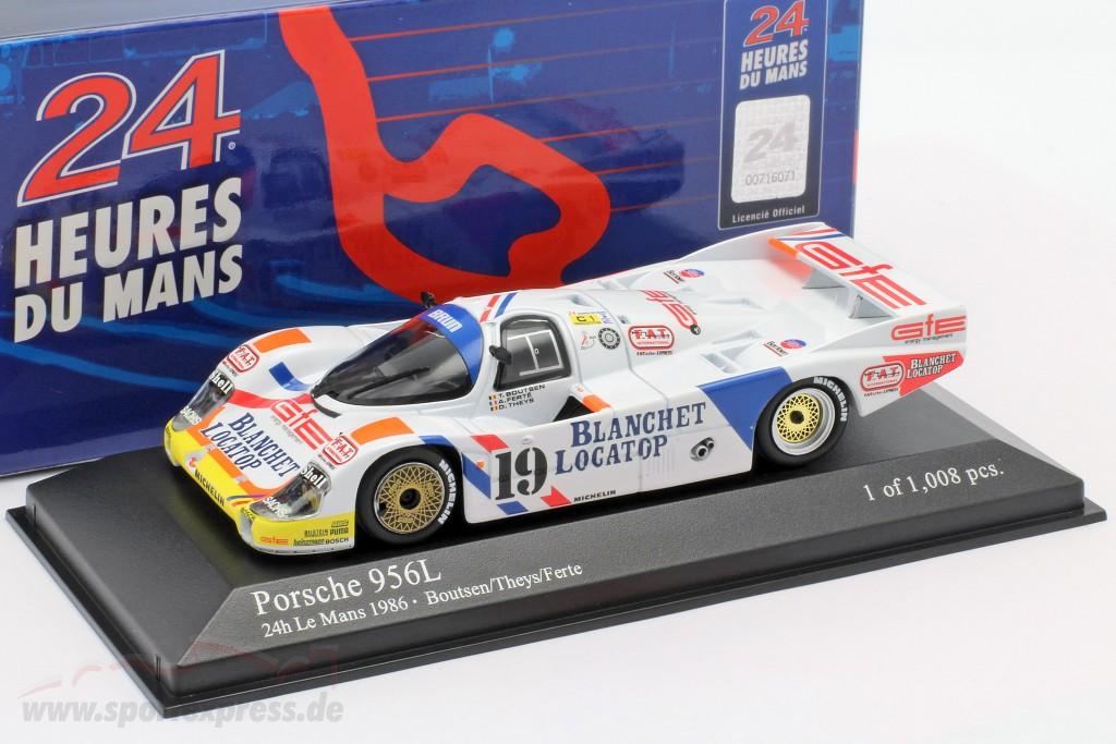 Porsche 956L #19 24h LeMans 1986 Brun Motorsport